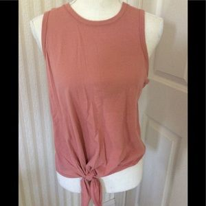 Hollister Tank With Tie Size M